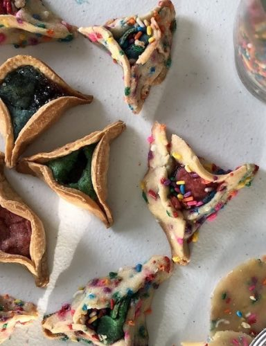 The Lazy Jewish Queer's Guide to Rainbow Hamantaschen for Purim